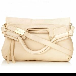 Foley and Corinna Cream colored Leather bag